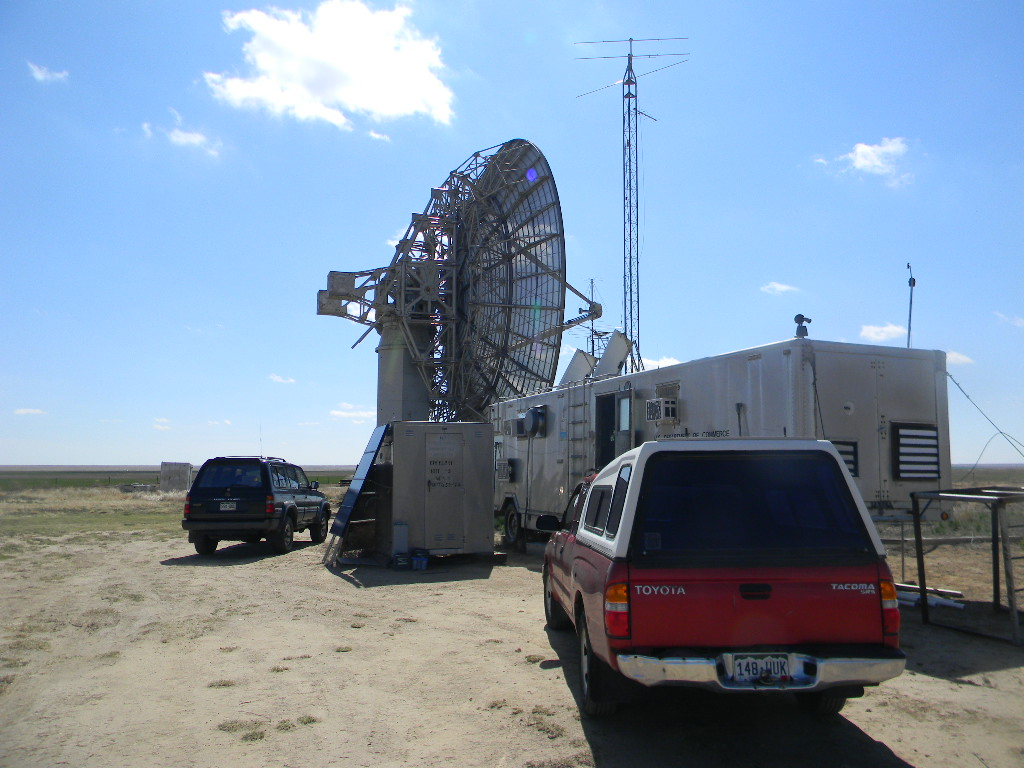 Plishner Antenna Site Work Trip Report for April 22, 2018