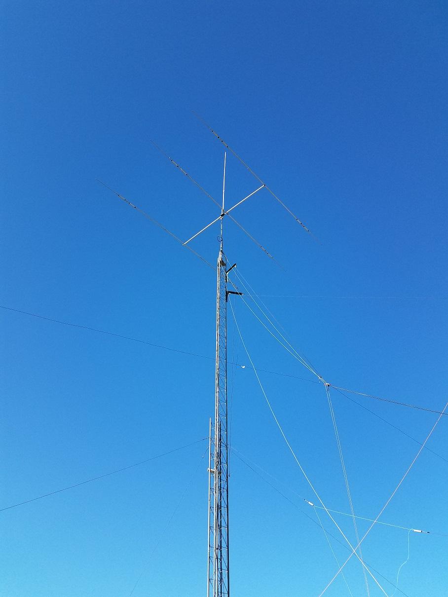 Antenna Raising